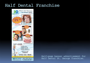 Half Dental Senior Saver Ad