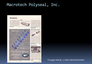 Macrotech Polyseal Performance Ad